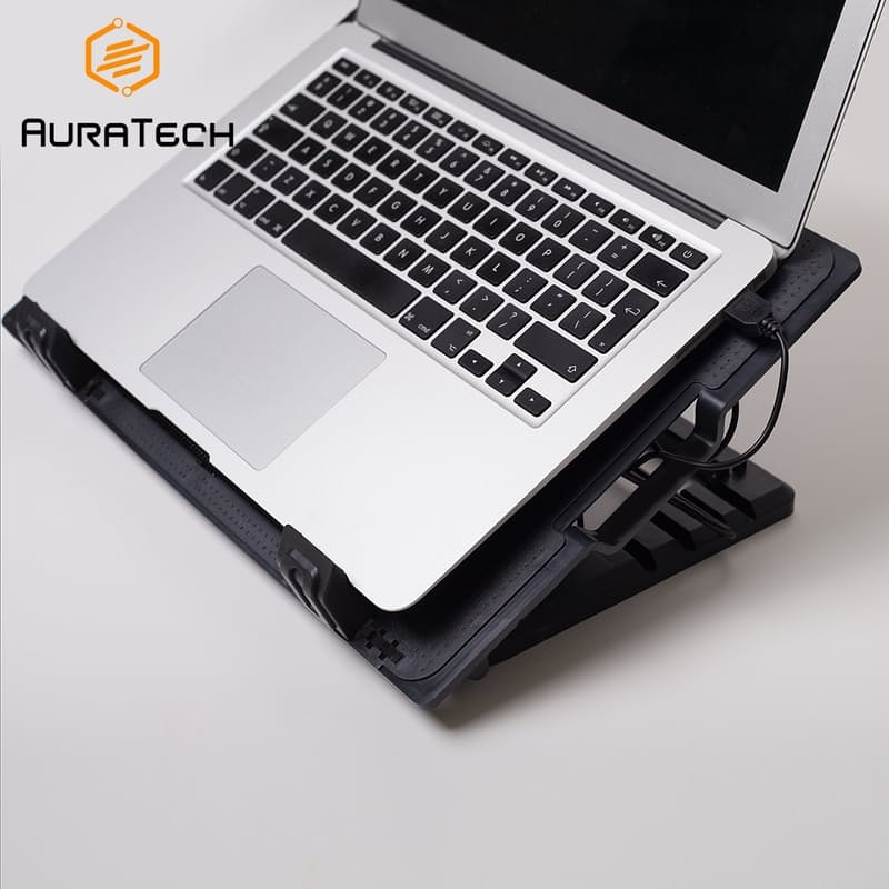 Ergo Laptop Cooling Fan & Height Adjustment Stand