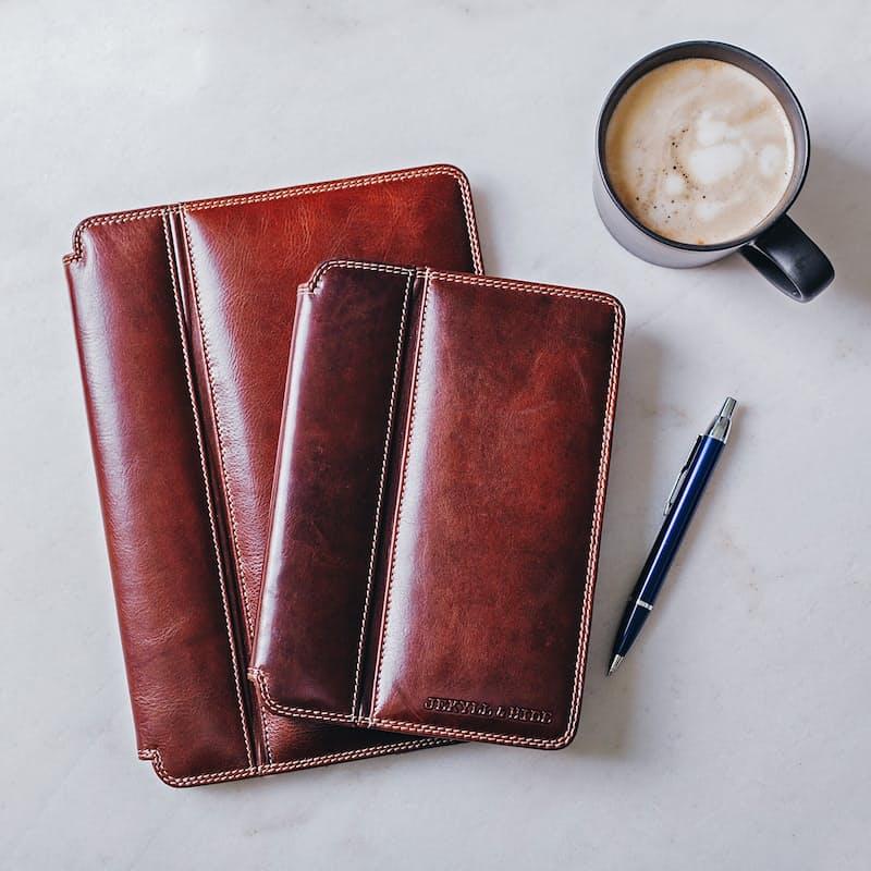 Oxford Leather RFID Secure iPad and iPad Mini Holders