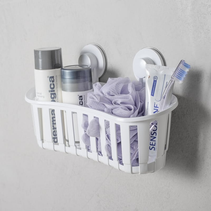 Storage Basket with Suction Cups