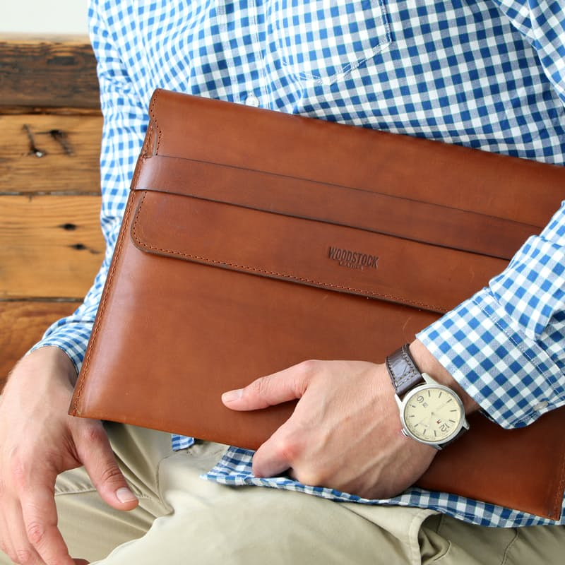 Genuine Leather Laptop Sleeves (More Sizes Available)