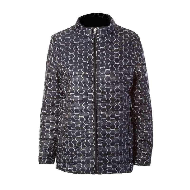 Ladies Printed Padded Jacket