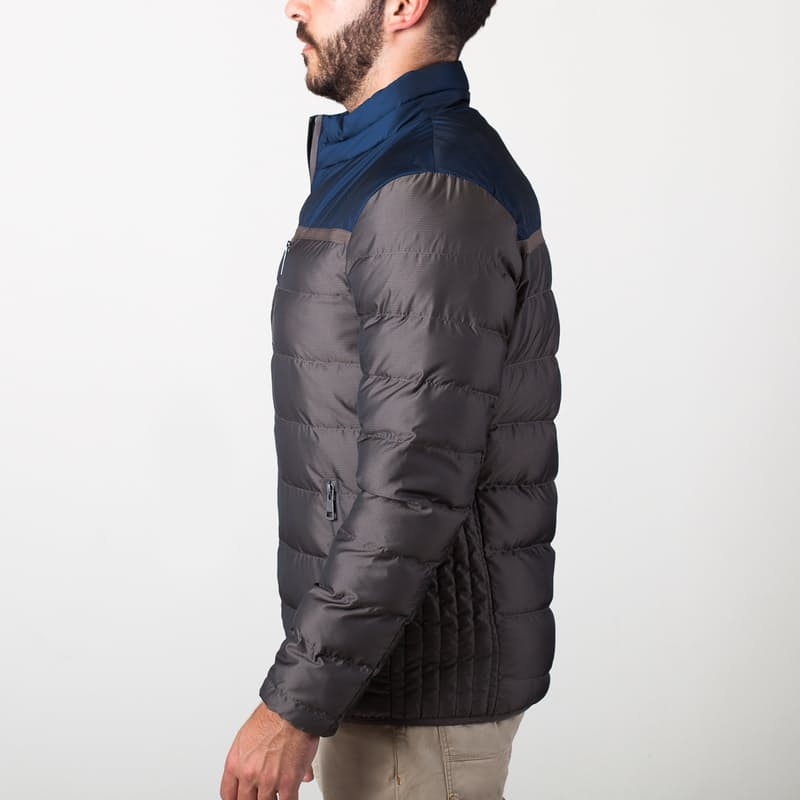 Cam Fitted Down Quilt Jacket