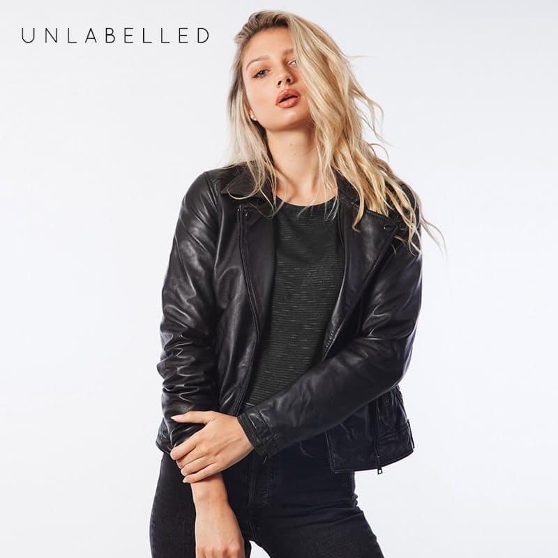 Premium Genuine Leather Ladies Jacket (Limited sizing available)