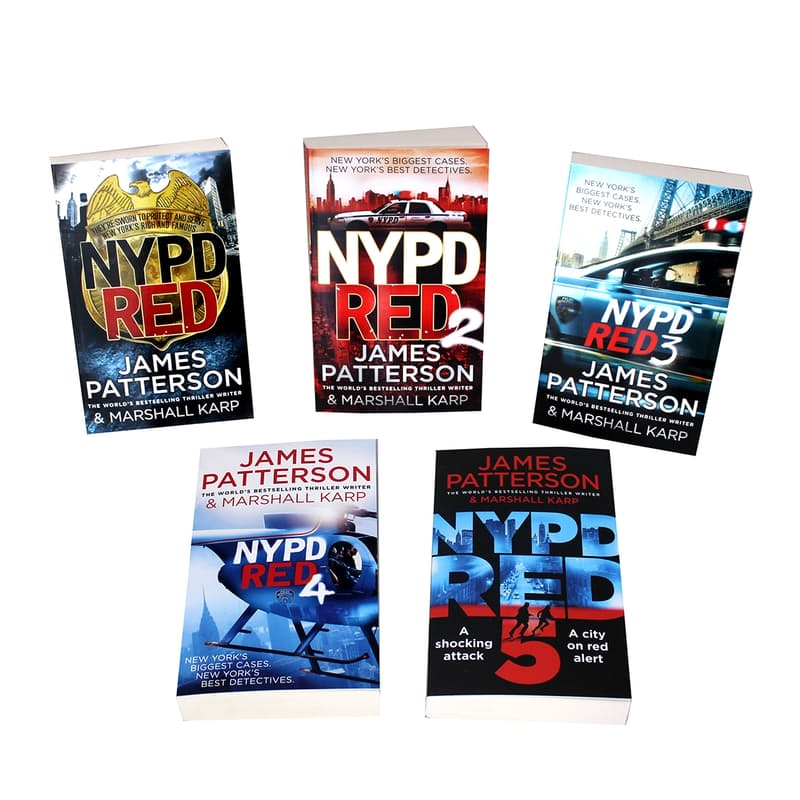 NYPD Red 5 Book Collection