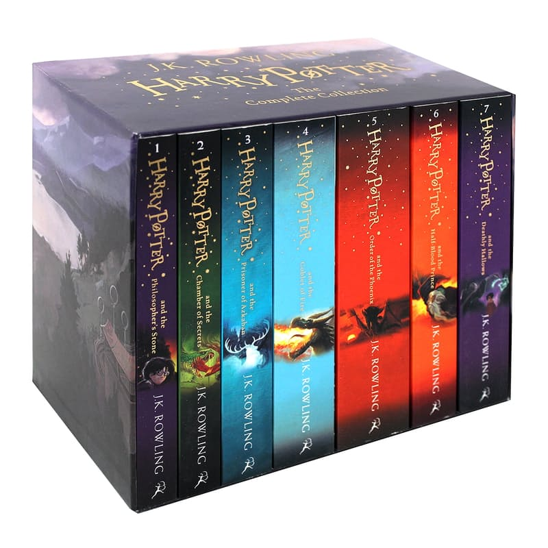 Complete Collection in Slipcase (7 Books)