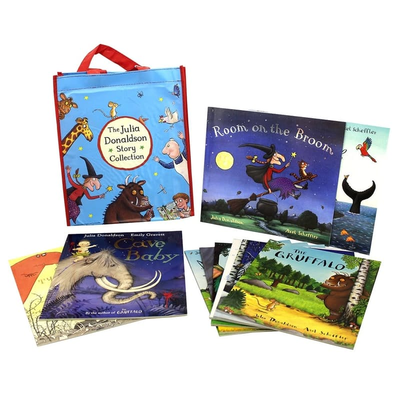 Children's Story Collection with Tote Bag (10 Books)