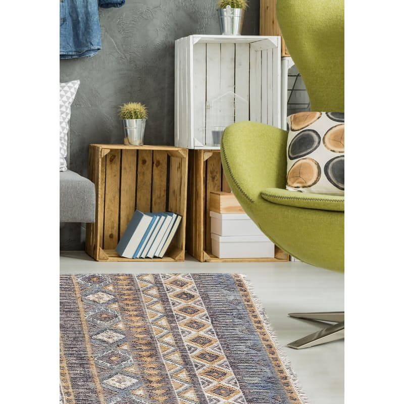 Kelim Collection 100% Jute Wool Rugs (Multiple Sizes Available)