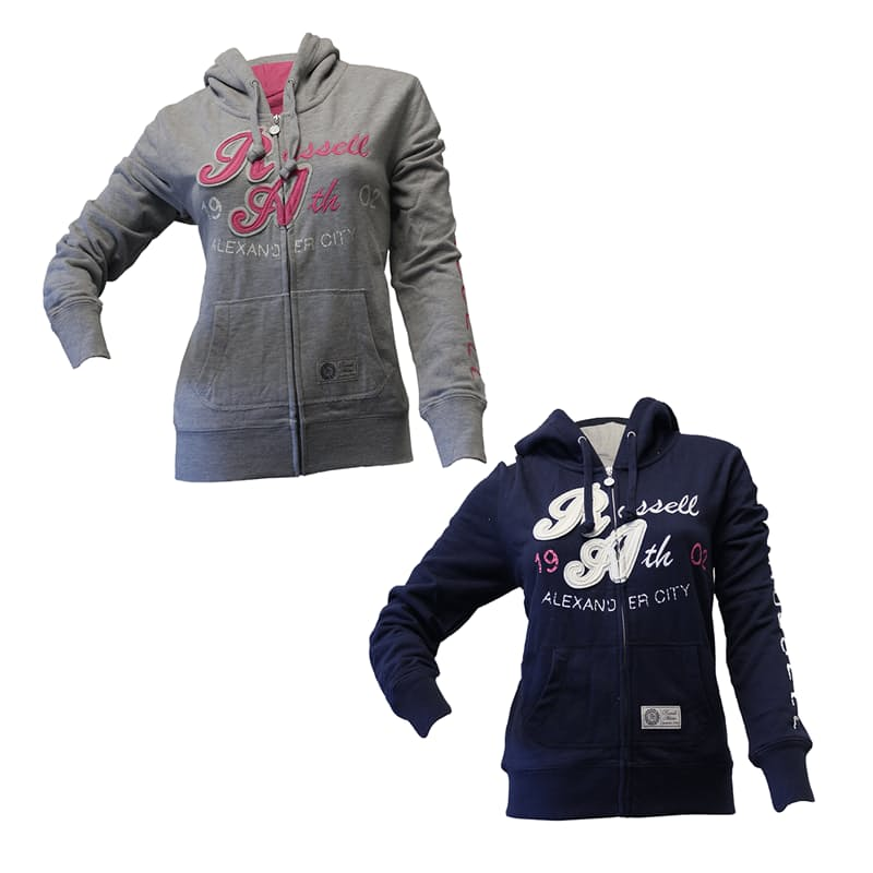 Ladies Washed Pull Over Hoodies