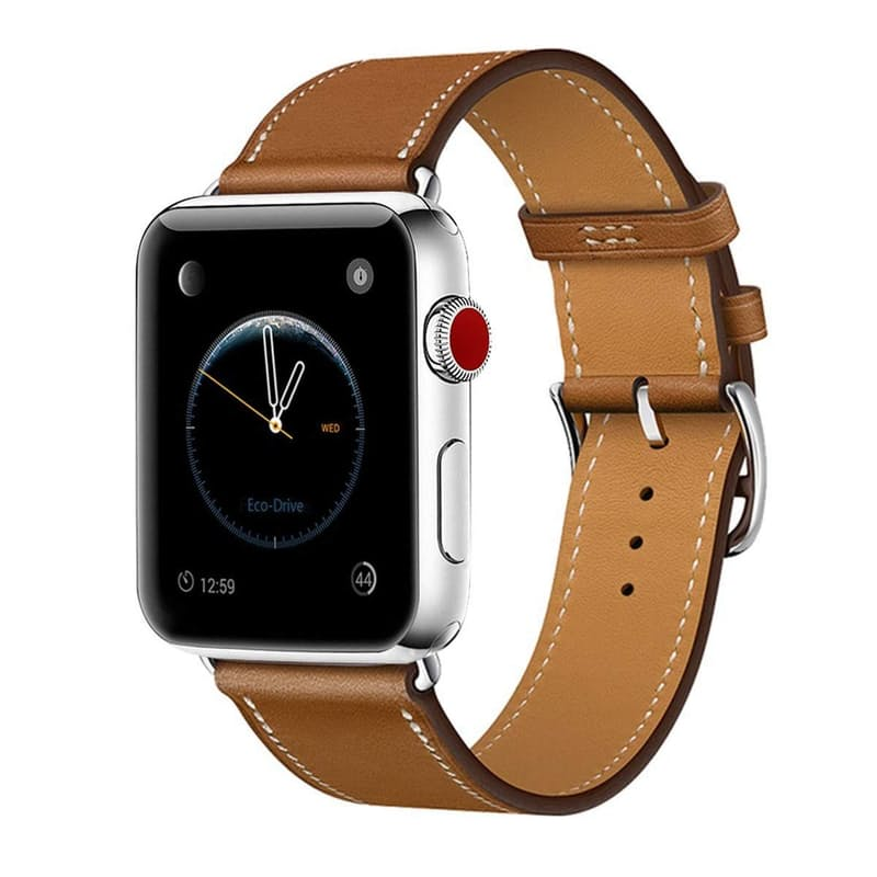 Leather Replacement Band for Apple Watch