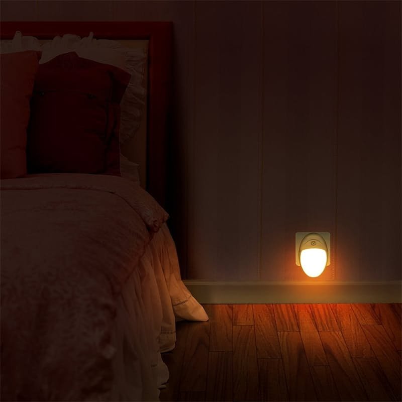 Pack of 2 Plug In Motion Activated Night Lights