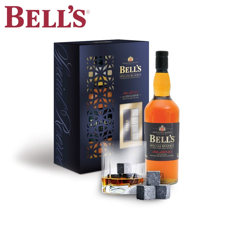 750ml Whisky with 4 Whisky Stones Gift Set
