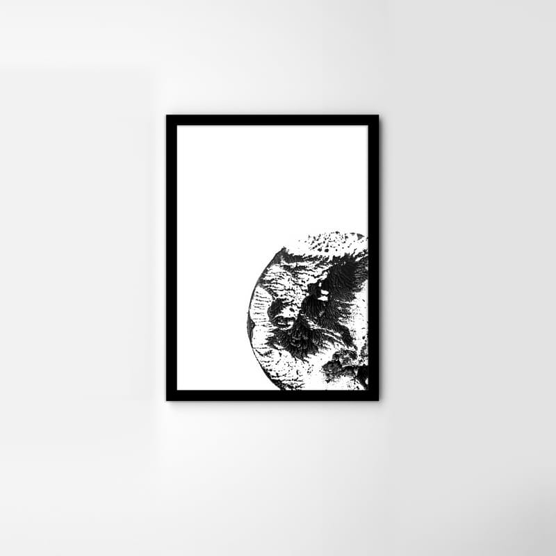 Framed Lunatic Print
