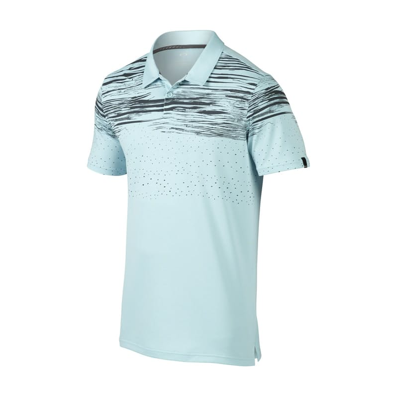 Men's Offset Wave Polo