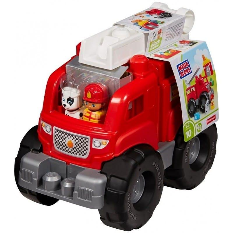 Fire Truck Rescue Building Set