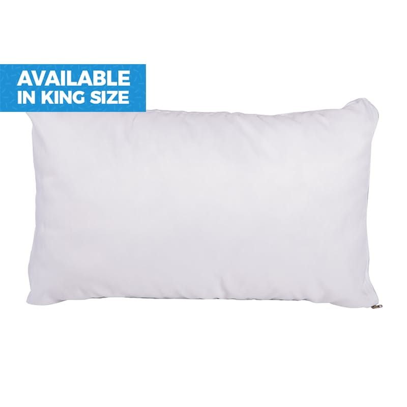 Combo Memory Foam and Ball Fibre Pillow (with 5 Year Guarantee)