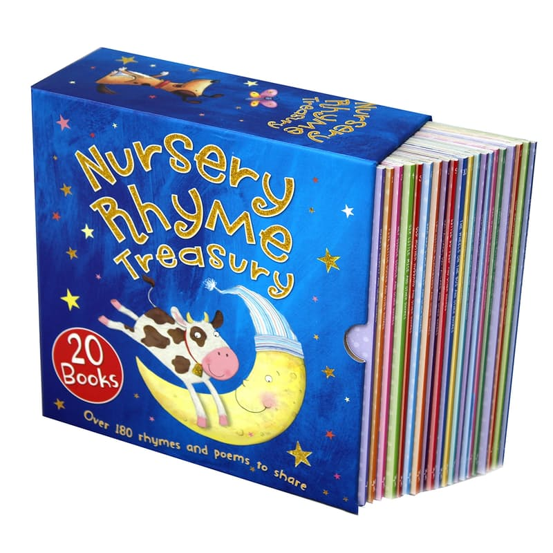 Nursery Rhyme Treasury Box Set (20 Books)
