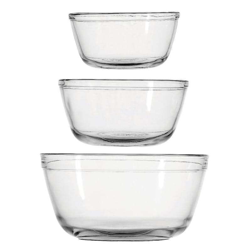 Set of 3 Mixing Bowls (1 Litre, 1.5 Litre, 2 Litre)