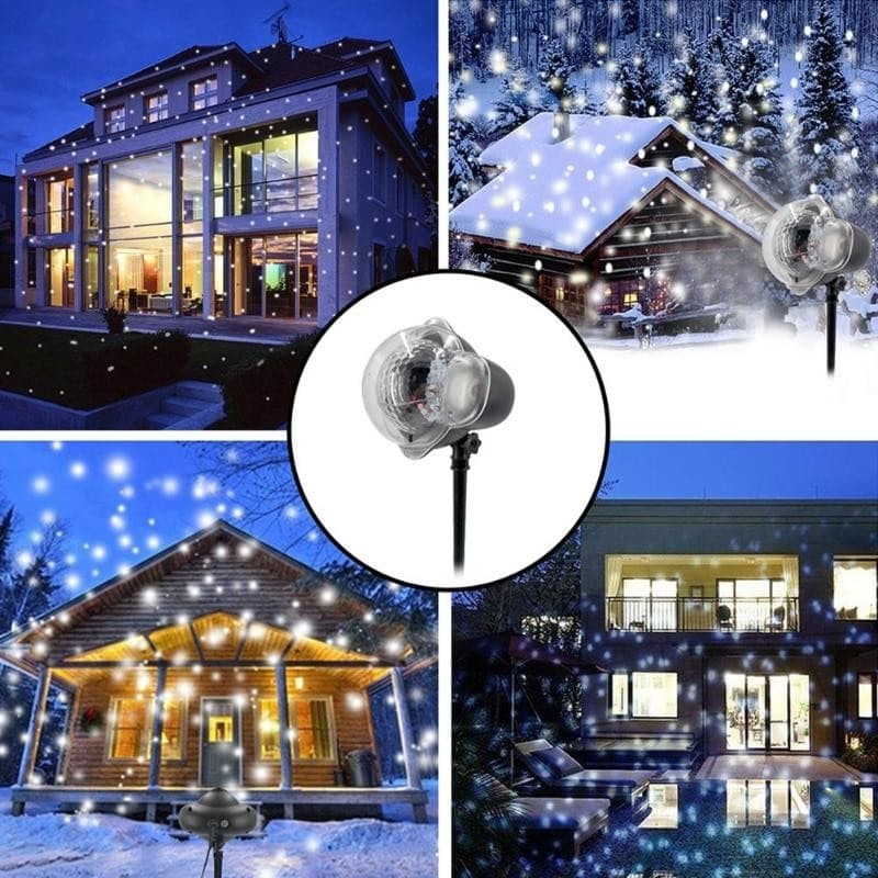 Snowflake Patterned Christmas Projector
