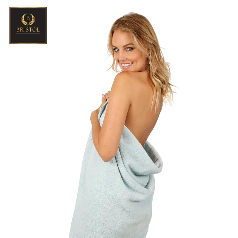 Set of 2 Big and Soft 600gsm 100% Cotton Bath Towels or Sheets
