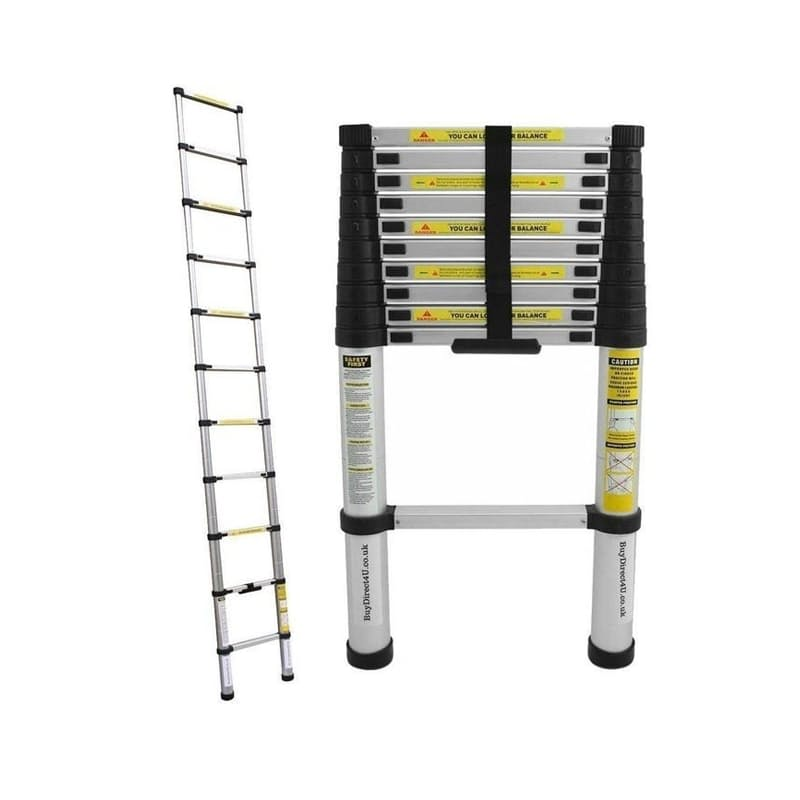 Extendable 3.2m Straight 11-Step Ladder