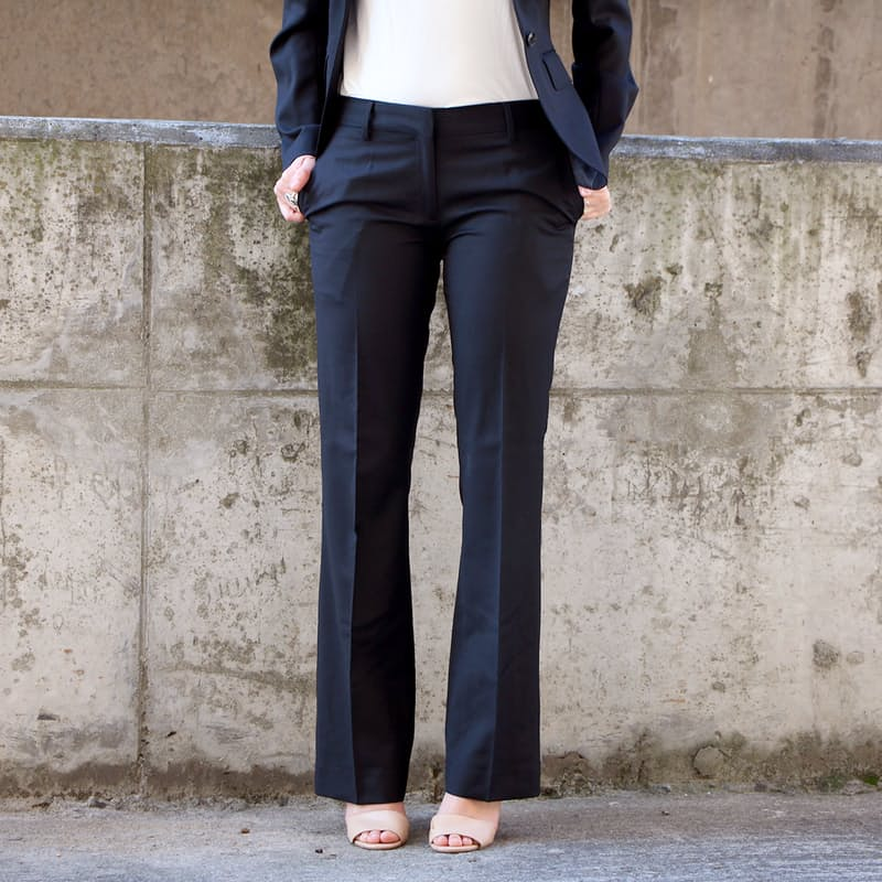Ladies Tailored Black Pants