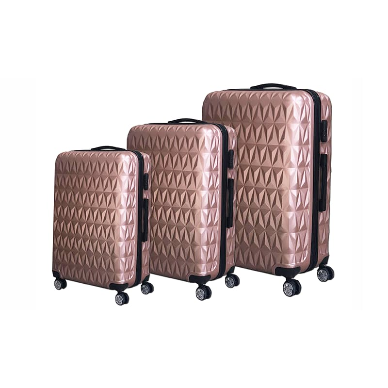 Hard Shell ABS Diamond Luggage