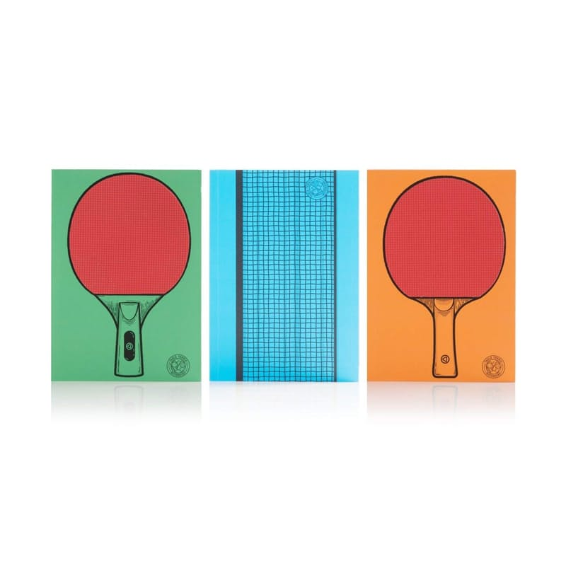 Pack of 3 Table Tennis Notebooks