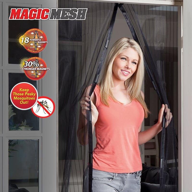 Magnetic Hands-Free Screen Door (As Seen On TV)