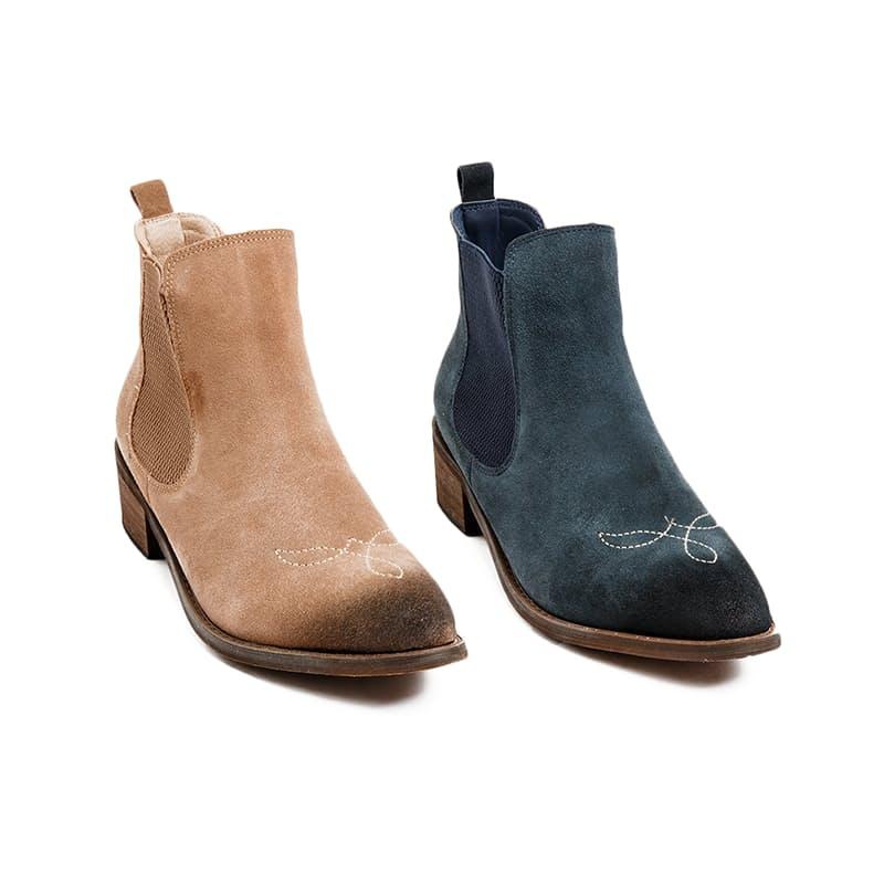 Laredo 703  Pointy Embellished Ankle Boots