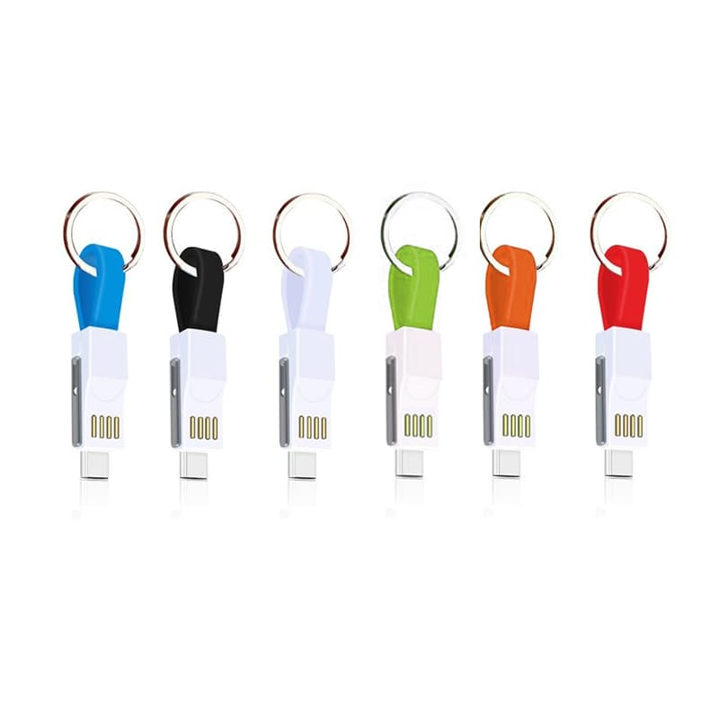Emergency 3-in-1 Keyring Charger