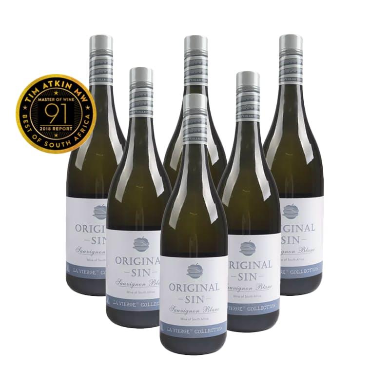Original Sin Sauvignon Blanc 2018  (R91.50 per Bottle, 6 Bottles)