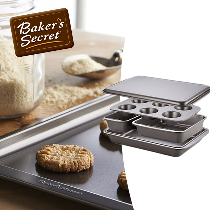 Easy Store™ 5 Piece Bakeware Set