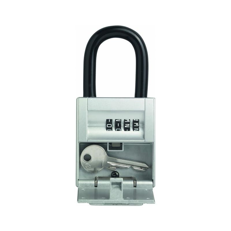 Mini KeyGarage Storage Holder with Combination lock and Shackle 737