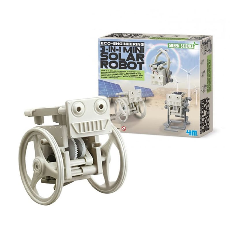 3-In-1 Mini Solar Robot Kit