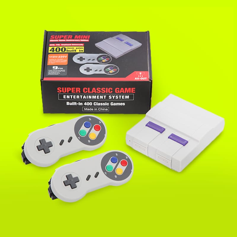 Classic Mini TV Game Console with 400 All-Time Favourite Games