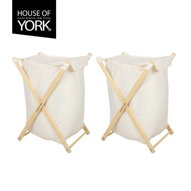 Set of 2 Flip Lid Laundry Bags