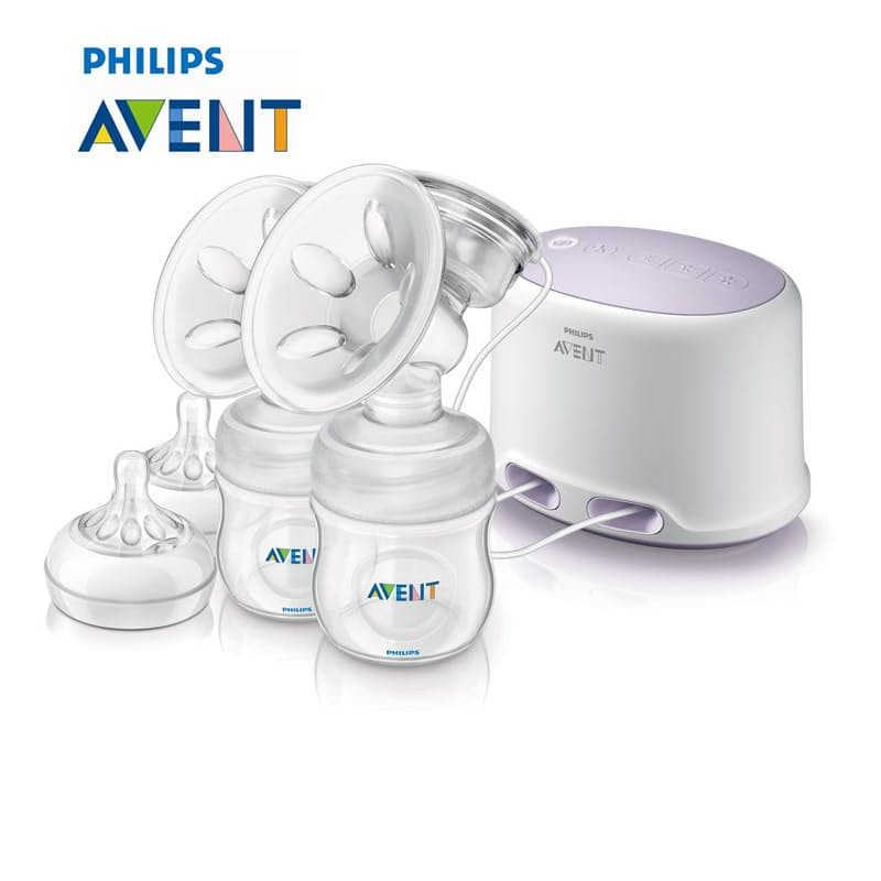 Natural Twin Electric Breast Pump (Model: SCF334/02)