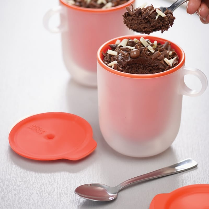 M-Cuisine™ Cool-touch Microwave Mugs