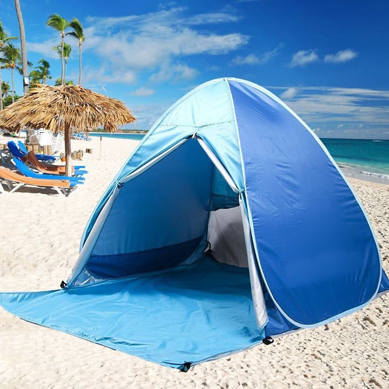 Beach Tent with Curtain