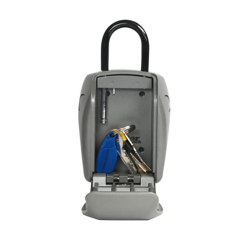 Large Combination Key Lock Box with Shackle