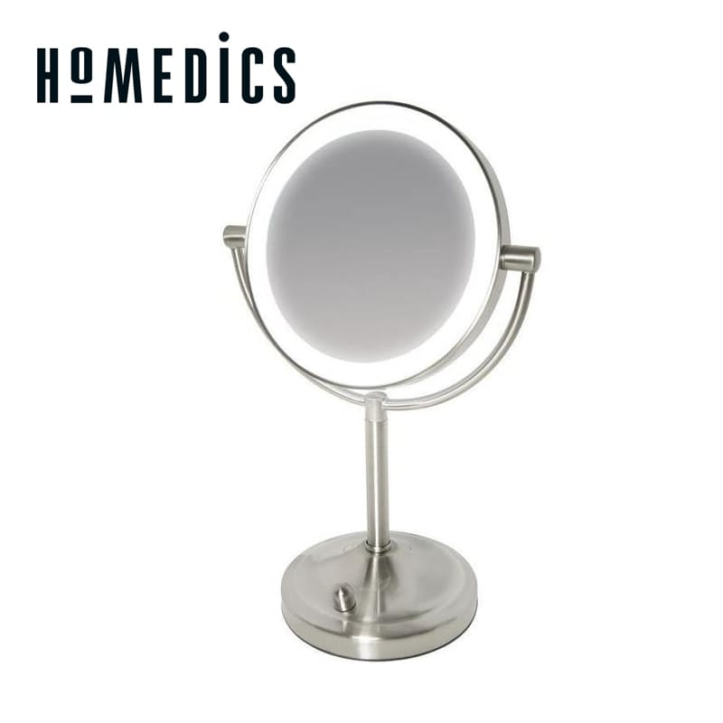 Spa Double-Sided Mirror with Dimmable LED Lights
