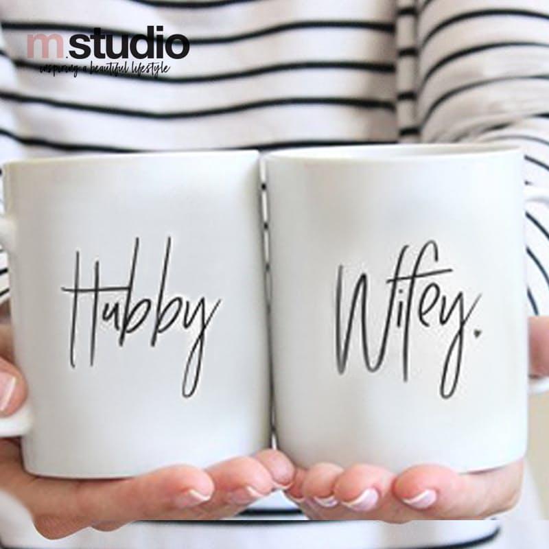 Set of 2 Couple's Mugs