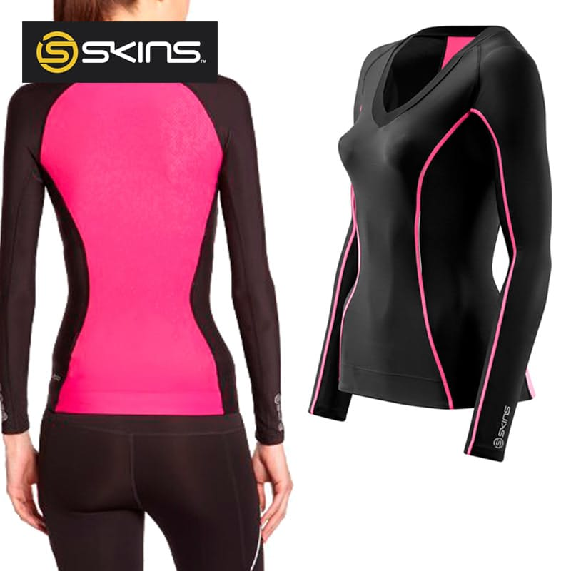 A200 Women's Long Sleeve Compression Top (Limited Stock Available)
