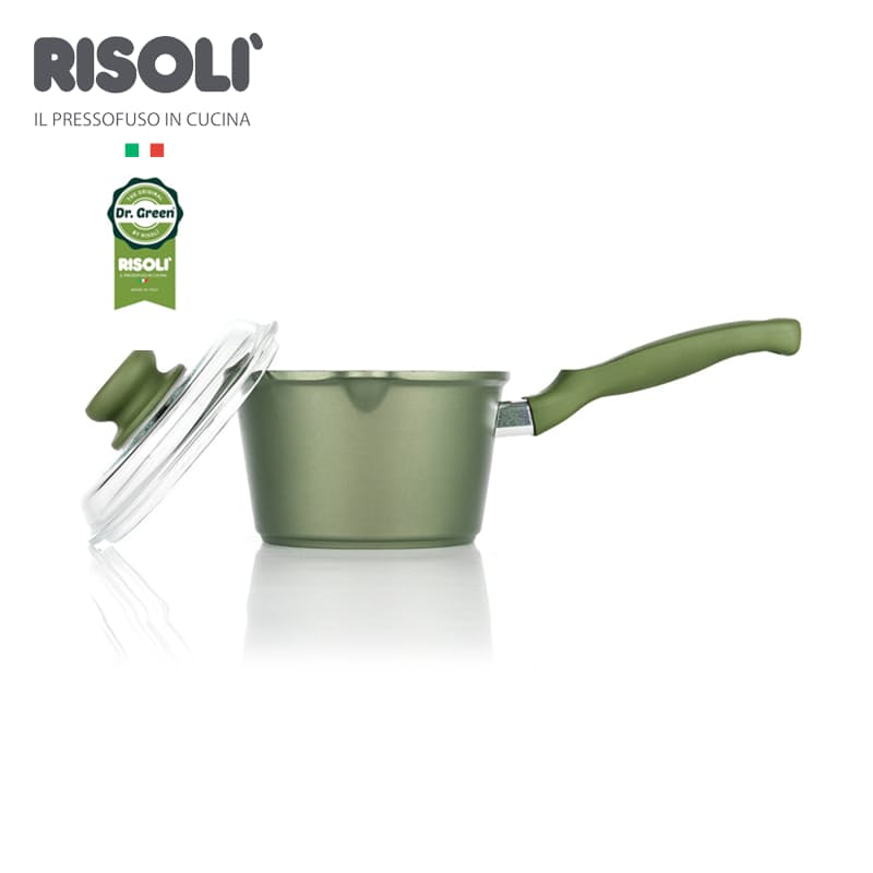 Dr Green 16cm Saucepot with Glass Lid