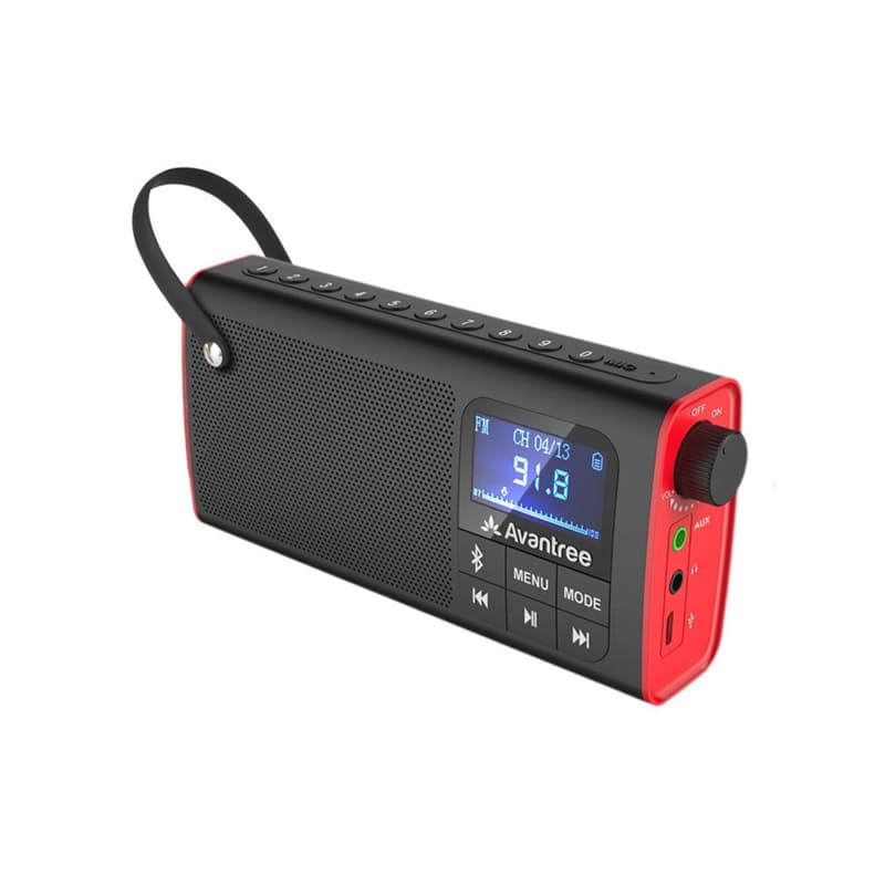 3-in-1 Bluetooth FM Radio
