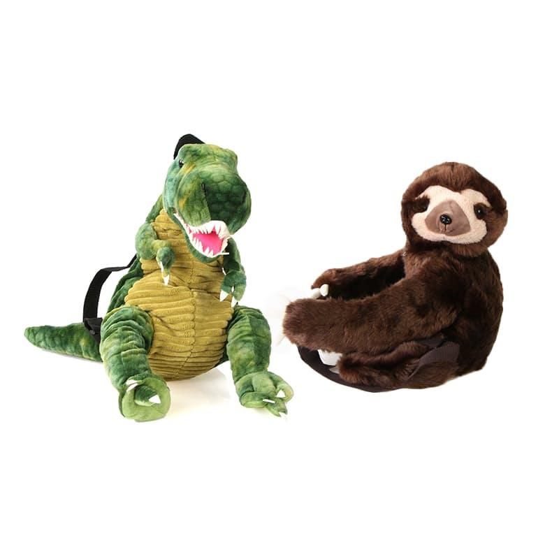 T-Rex or Sloth Backpacks