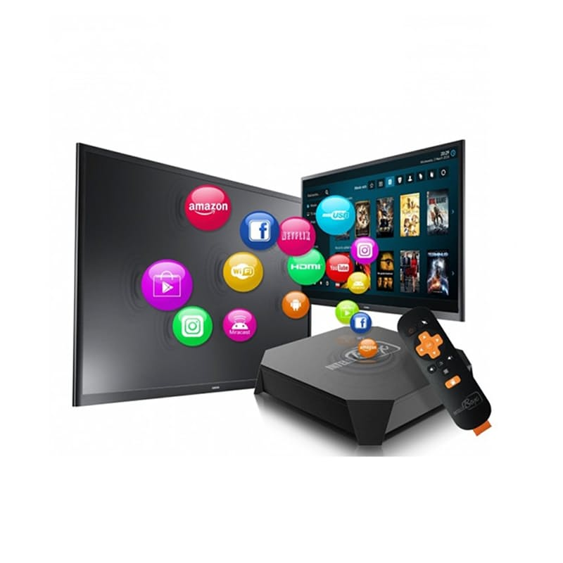 Android Smart TV Box Pre-Installed with Netflix, Facebook, Youtube and More
