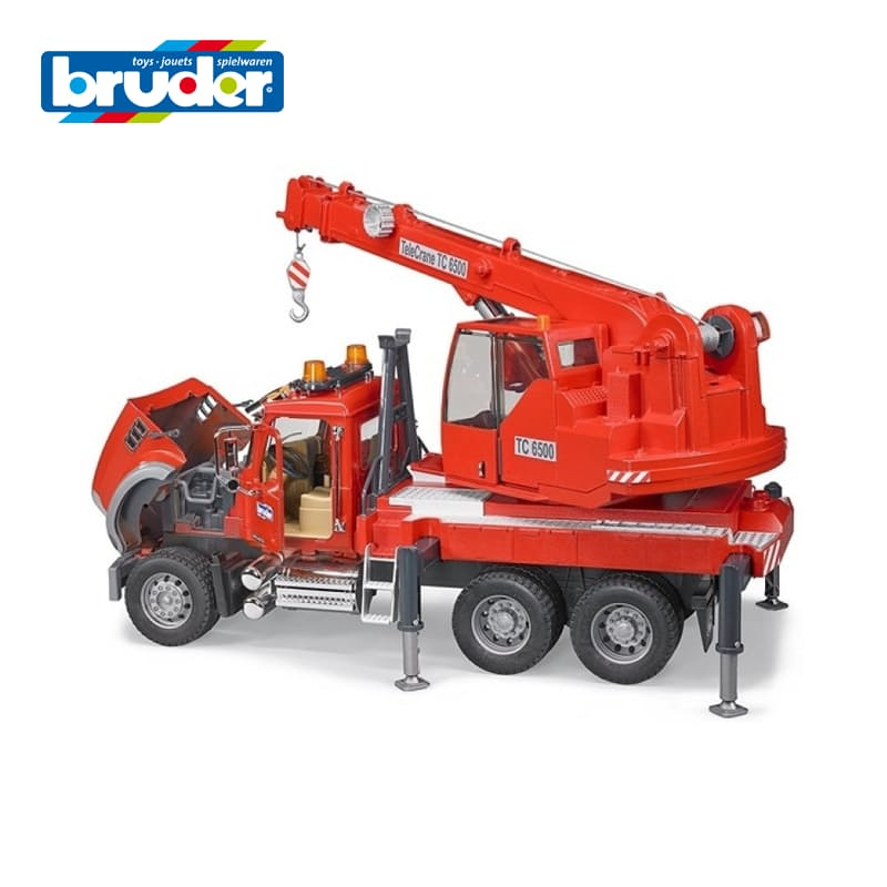 Mack Granite Crane Truck with Light and Sound Module