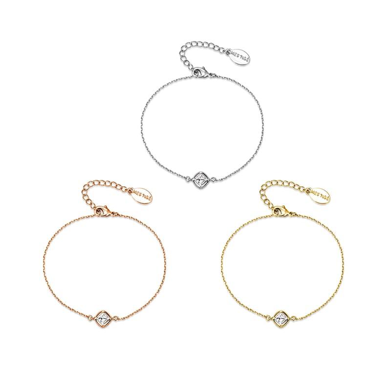 Jolie Bracelet with Swarovski Crystals