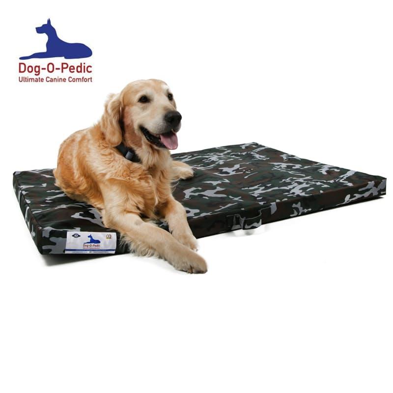 Hush Puppy Dual HD & Memory Foam Dog Mattress with Waterproof Casing